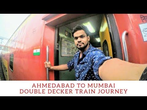 Ahmedabad Mumbai Double Decker Express Journey