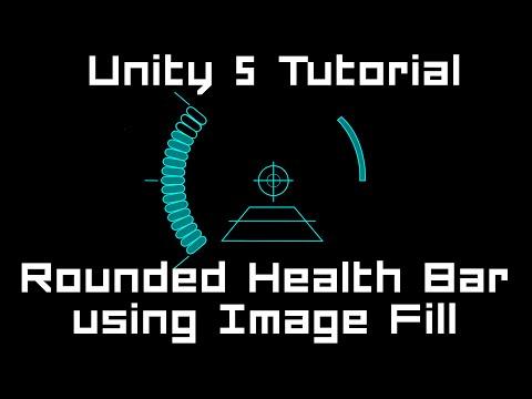 Unity 5 Tutorial: Rounded Healthbar - using Image Fill & Mask #C thumbnail