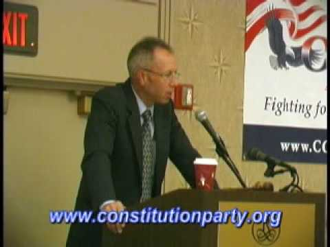 Constitution Party Speaker - Marshall DeRosa - Part Three