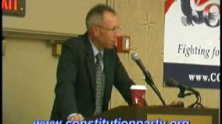Constitution Party Speaker - Marshall DeRosa - Part Three