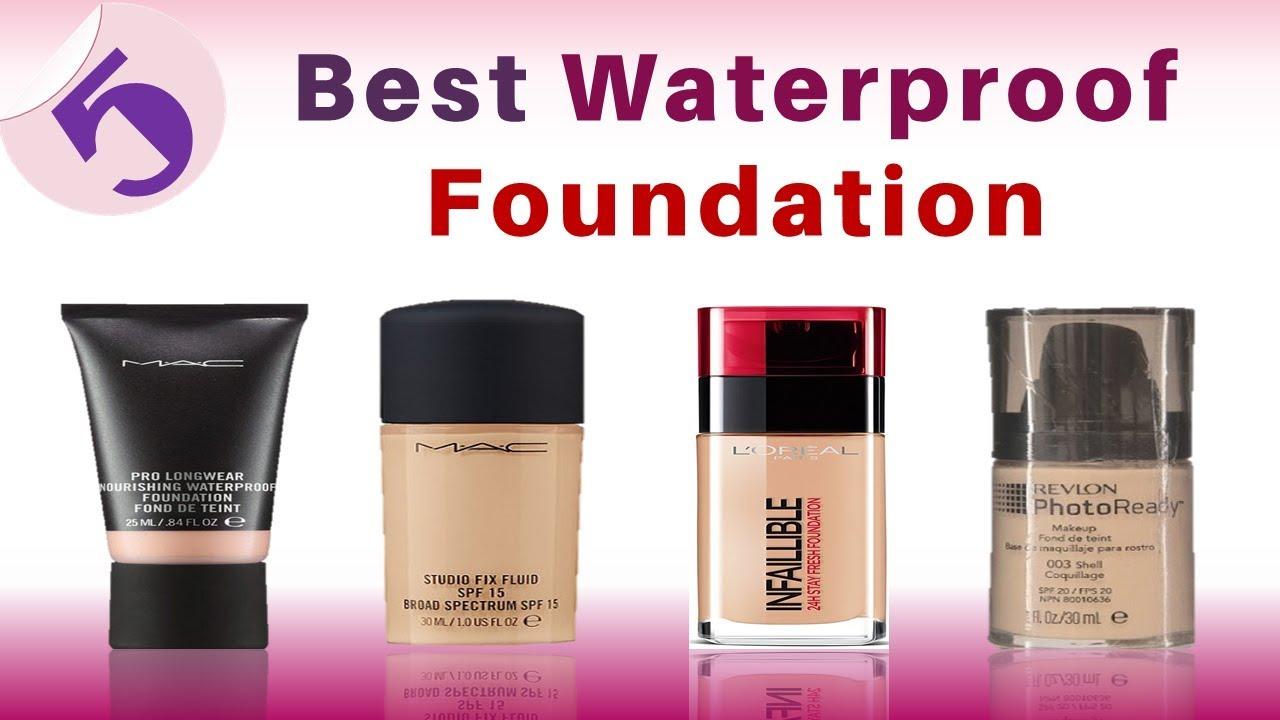 Best waterproof foundation