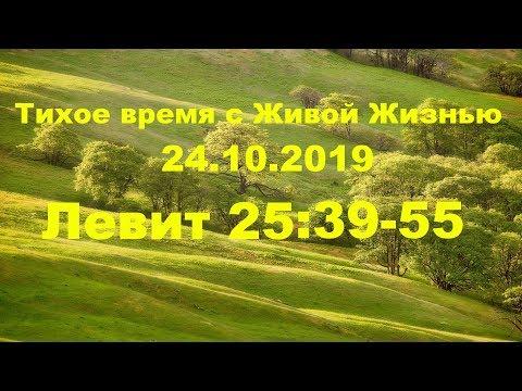 Тихое время с Живой Жизнью: Левит 25:39–55 (24102019)