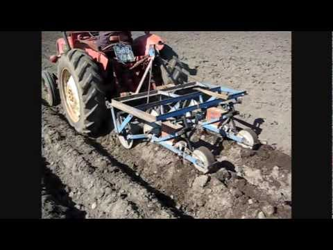 MF135, MF35x & IH B414, Sowing Turnips- 2012