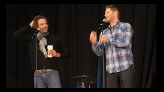 Jared Padalecki and Jensen Ackles GOLD NJCon Full Panel 2015 Supernatural
