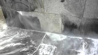 čištění žulového kamene obložení fasády