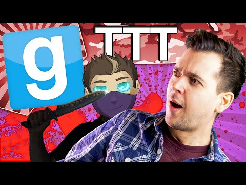 Gmod TTT - Rythian Doing Murders (Garry's Mod Funny Moments)