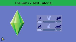The Sims 2 Text Tutorial: Pet Aging