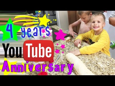 4 Year Anniversary Cinnamon Rolls - YOU CAN BE IN A FFP VIDEO!