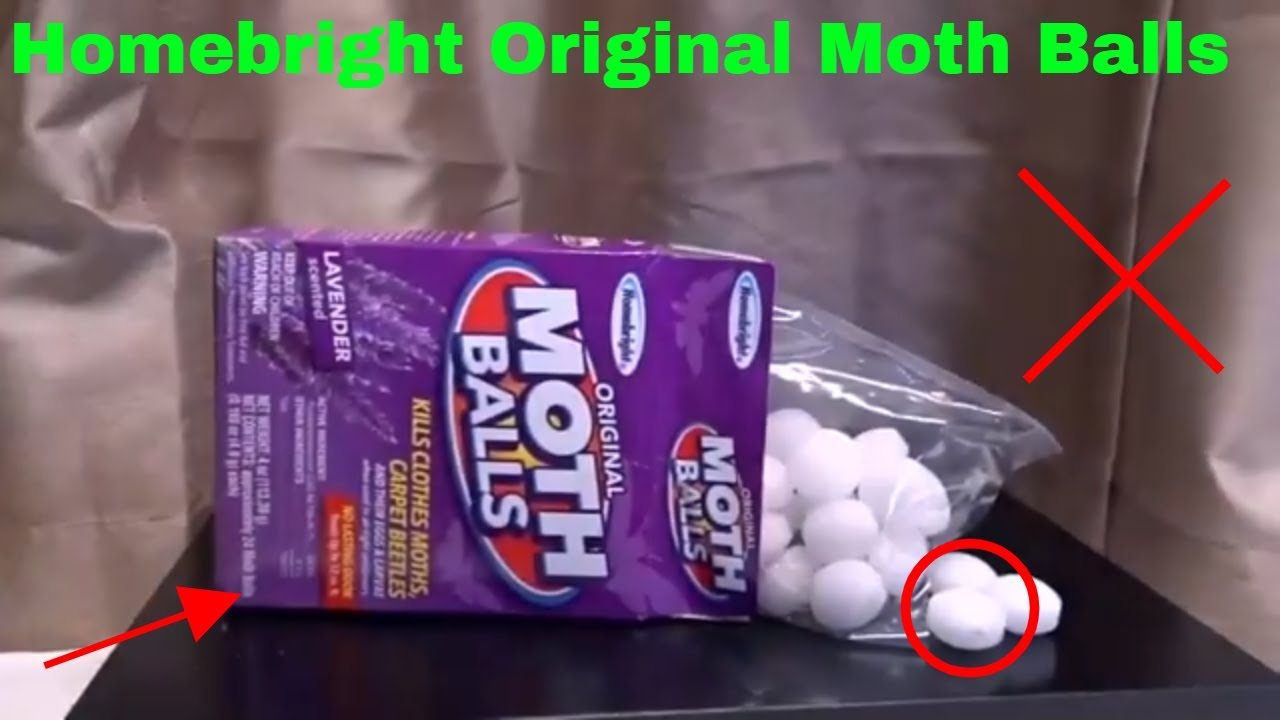 ✅ How To Use Homebright Original Moth Balls Review