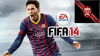 FIFA 14 Ultimate game play ||Managerial Mood||  - First Game Online!