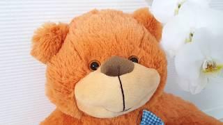 М'яка іграшка Ведмідь Бо 61см коричневий від виробника Попелюшка