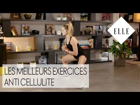 Les meilleurs exercices anti cellulite┃ELLE Fitness