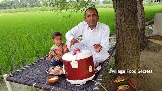 Chicken in Rice Cooker Recipe by Mubashir Saddique | Village Food Secrets