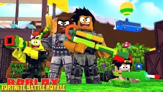 ROBLOX FORTNITE BATTLE ROYALE - NEW FORNITE BATTLE ROYALE IN ROBLOX!!