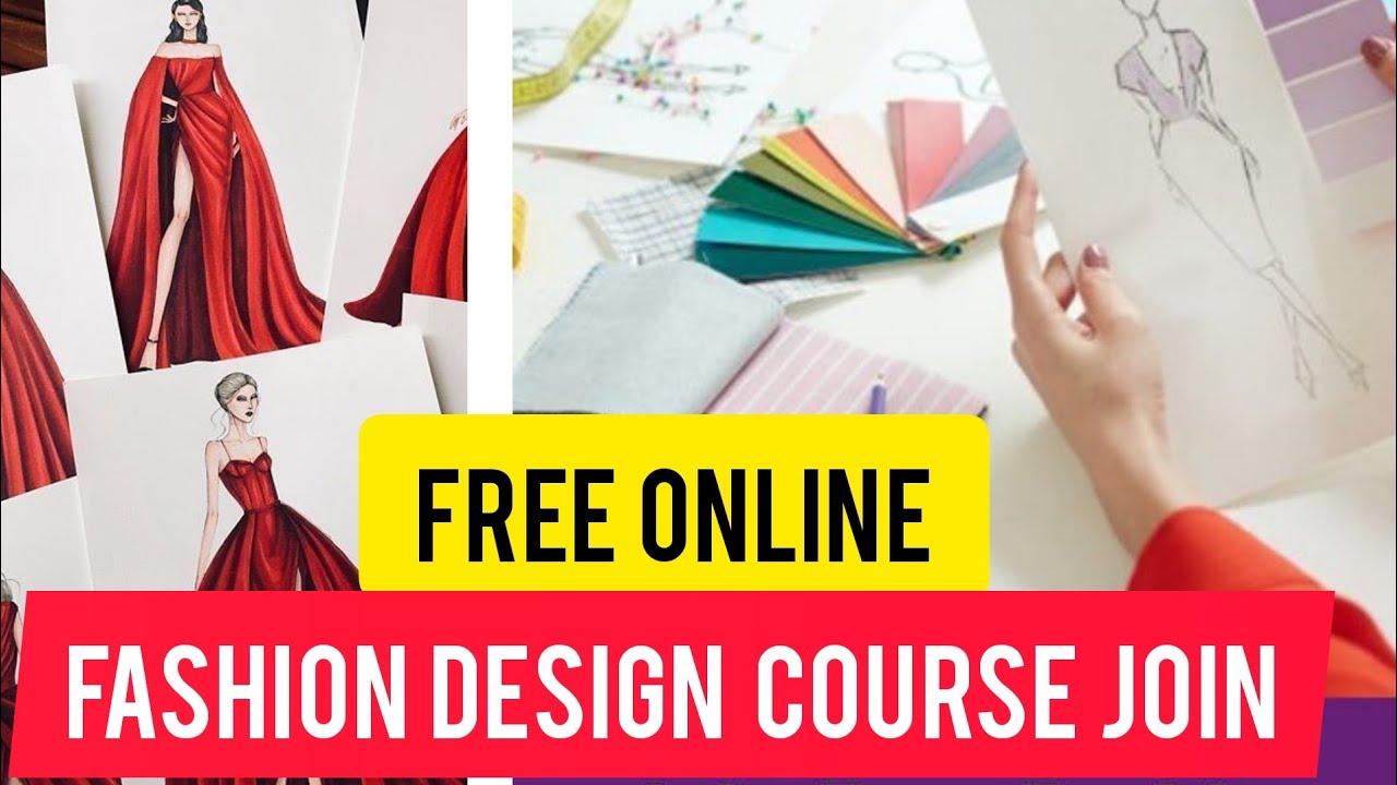 Free Online Fashion Design Classes Illustration Vs Sketch Class 10 Youtube