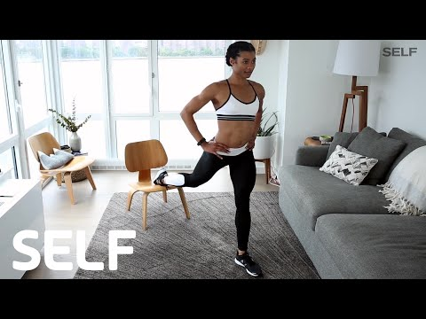 The 5-Move Before-Breakfast Workout You Can Do At Home | SELF