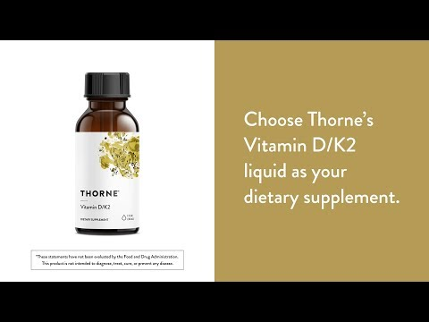 Vitamin D K2 Liquid by Thorne