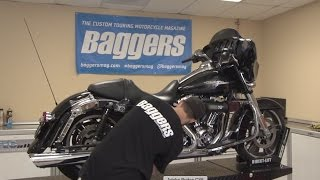 baggers sound off vance and hines twin slash round slip on mufflers
