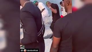 DAVIDO DANCING ON NEW SONG