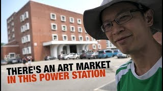 Sketching at Pasir Panjang Power Station