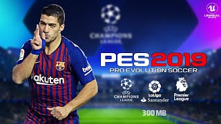 pes 2019 lite android apk video, pes 2019 lite android apk