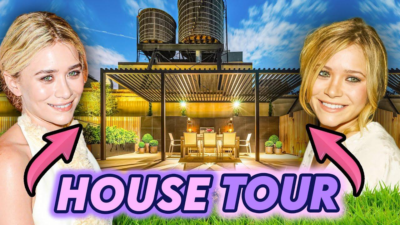 Mary-Kate & Ashley Olsen Twins   House Tour   $7.3 Million Dollar Greenwich Village & Gramercy Park