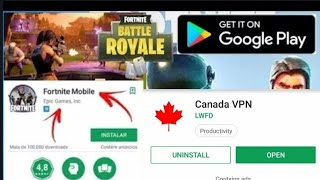 Download fortnite play 3GB ram smartphone 👍