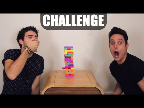 The Horrible Jenga Challenge!
