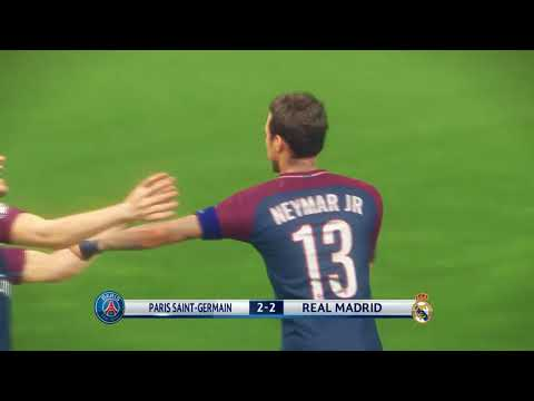 PES 2018 - PSG vs Real Madrid Champions League Final Ultimate Stage Stadium HD (with penalties)