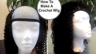 How To Make A Crochet Wig ( Beginner Friendly) | How To Make A Crochet hair