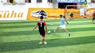 MAÇ ÖZETİ /KAPALI KALE - FC WARRIORS /KAYSERİ/ iddaa Rakipbul Ligi 2018