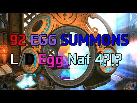 L/D BLUE GLOW SURPRISE 92 Summons | Monster Super League