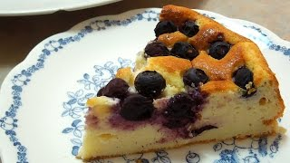 How to make Blueberry Cottage Cheese Cake / Recipe - カッテージチーズケーキの作り方