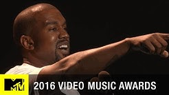 Kanye West's Moment | 2016 Video Music Awards | MTV