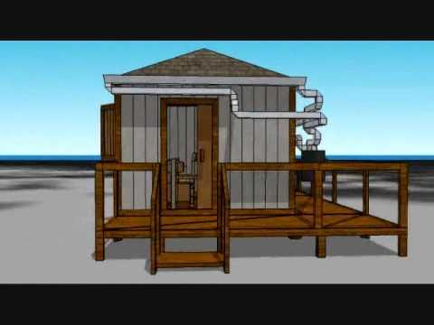 Design It Shelter Competition Entry The Stilt House YouTube