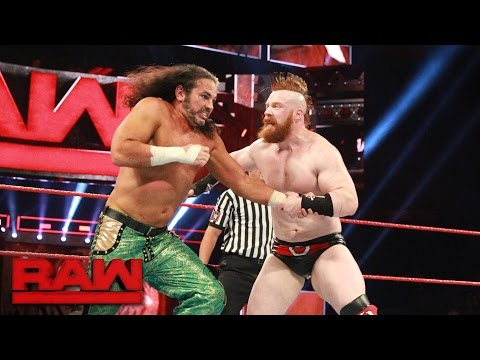 Choose the Stipulation Match - Matt Hardy vs. Sheamus: Raw, May 22, 2017