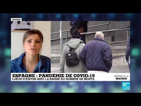 Coronavirus: Lueur d'espoir en Espagne, avec la baisse du nombre de morts