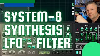 #LFO and filters of the @Roland #System-8 - Part 2 synthesis tutorial