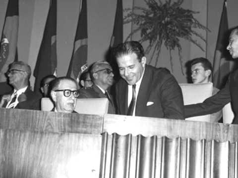 Discurso de posse do Presidente João Goulart (1961) - audio