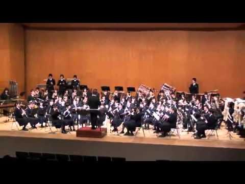 海賊王主題曲管樂團演奏 One Piece Opening with Symphonic Band(Japanese students)