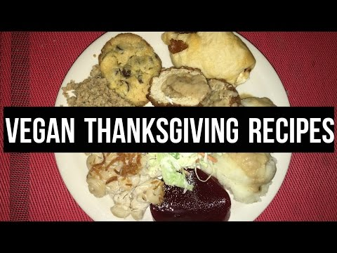 HOW TO HAVE A VEGAN THANKSGIVING   Cooking With Sonia