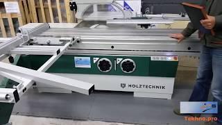 Форматно раскроечный станок D 405M HOLZTECHNIK (обзор)