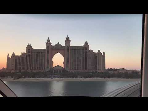 Palm Monorail to the Atlantis, Palm Jumeirah, Dubai 2