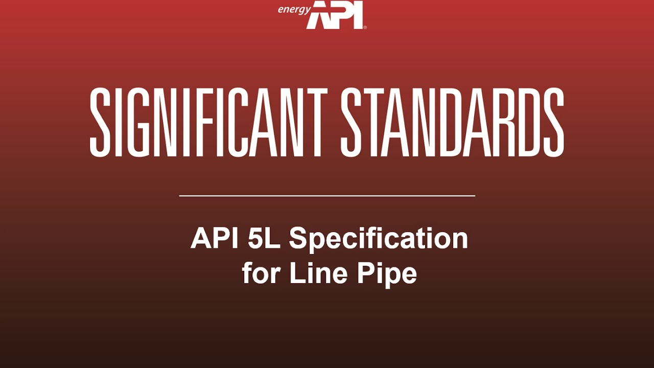 API 5L 46th Edition April 2018: Specification for Line Pipe