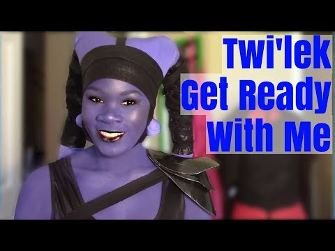 Get Ready With Me   Twilek Cosplay