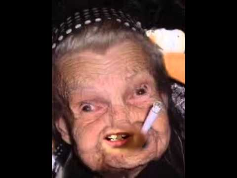 Granny smoking pics