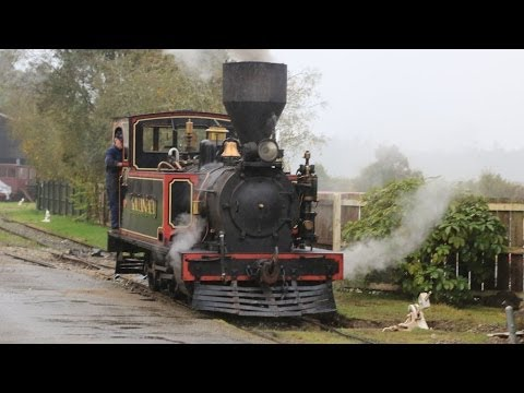 Shantytown Steam Railway New Zealand