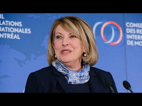 Christine St-Pierre : Le Québec, une voix qui porte