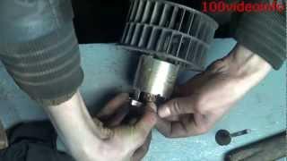 Замена или что делать если пищит мотор печки