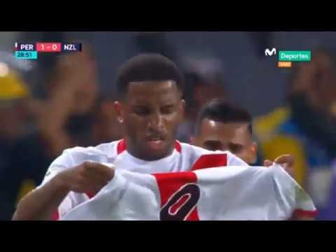 Perú Vs Nueva Zelanda 1-0 GOL De Jefferson Farfan REPECHAJE Vuelta  Rusia 2018